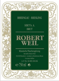 Rheingau Riesling Sekt Brut Flaschengärung 2013