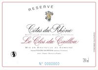 Cotes du Rhone La Reserve 2017