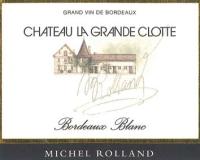 Chateau La Grande Clotte (AC Bordeaux blanc)