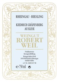 Kiedricher Gräfenberg Riesling Auslese (fruchtsüß)