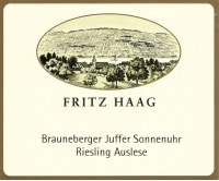Brauneberger Juffer Sonnenuhr Riesling Auslese (fruchtsüß)