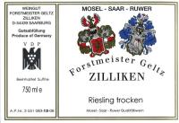 Riesling QbA trocken 2014