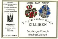 Saarburger Rausch Riesling Kabinett (fruchtsüß) 2014