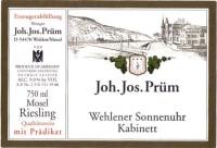 Wehlener Sonnenuhr Riesling Kabinett (fruchtsüß) 2016