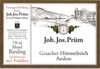 Graacher Himmelreich Riesling Auslese (fruchtsüß) 2016