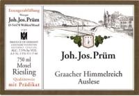 Graacher Himmelreich Riesling Auslese Goldkapsel (fruchtsüß) 2009