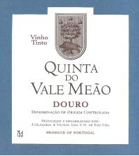 Quinta do Vale Meao Douro Red 2010