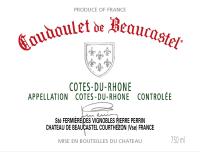 Cotes du Rhone blanc Coudoulet de Beaucastel