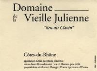 Cotes du Rhone lieu-dit Clavin