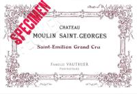 Chateau Moulin Saint Georges Grand Cru 2009