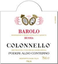 Barolo Bricco Bussia Vigna Colonnello