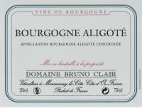 Bourgogne Aligote 2012