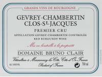 Gevrey Chambertin Clos St Jacques 1er Cru 2013