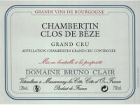 Chambertin Clos de Beze Grand Cru 2011