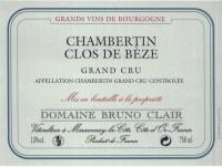 Chambertin Clos de Beze Grand Cru