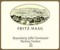 Brauneberger Juffer Sonnenuhr Riesling Großes Gewächs 2014