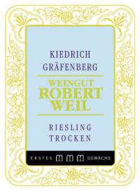 Kiedricher Gräfenberg Riesling Großes Gewächs trocken
