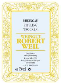 Rheingau Riesling QbA trocken 2014