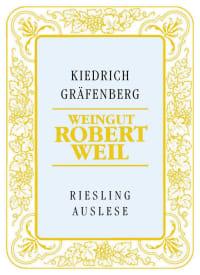 Kiedricher Gräfenberg Riesling Auslese (fruchtsüß) 2009