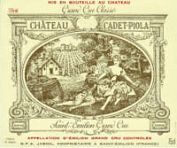 Chateau Cadet Piola Grand Cru 2009