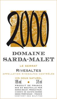 Rivesaltes Le Serrat (fruchtsüß) 1998