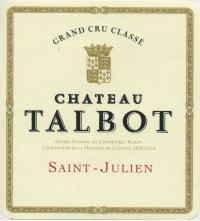 Chateau Talbot 4eme Cru 2010