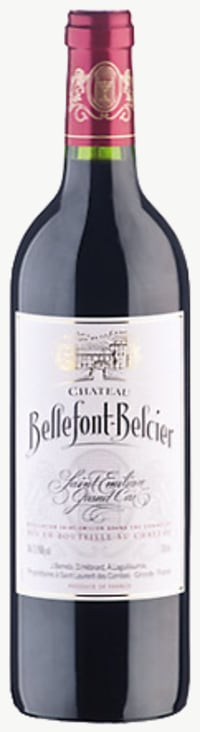 Chateau Bellefont Belcier Grand Cru Classe 2010