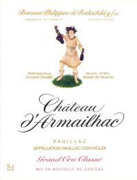 Chateau D'Armailhac 5eme Cru