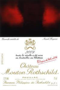 Chateau Mouton Rothschild 1er Cru 2009