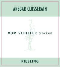Riesling trocken Vom Schiefer 2014
