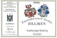 Saarburg Riesling  trocken