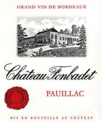 Chateau Fonbadet Cru Bourgeois 2010