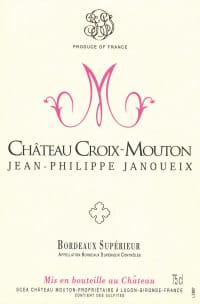 Chateau Croix Mouton Bordeaux Superieur 2010