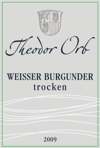 Weißer Burgunder trocken 2014
