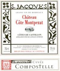 Chateau Cote Montpezat Cuvee Compostelle 2009
