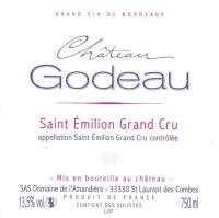 Chateau Godeau Grand Cru 2009