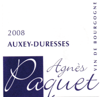 Auxey Duresses rouge 2012