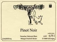 Pinot Noir Heydenreich Großes Gewächs 2012