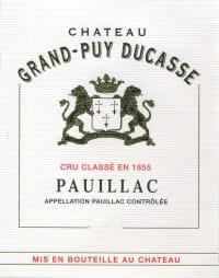 Chateau Grand Puy Ducasse 5eme Cru
