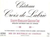 Chateau Croix de Labrie Grand Cru 2010