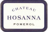 Chateau Hosanna 2015