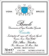 Barolo Riserva Cerretta Vigna Bricco