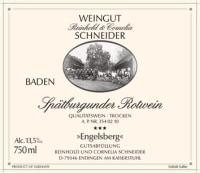Spätburgunder Engelsberg trocken 2012