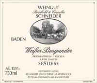 Weißer Burgunder R Auslese trocken 2011