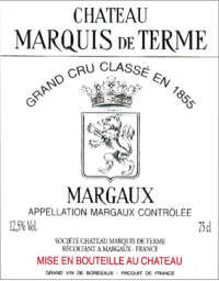 Chateau Marquis de Terme 4eme Cru 2010