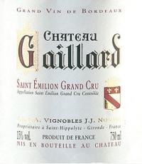 Chateau Gaillard Grand Cru