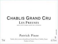 Chablis Grand Cru Preuses 2012