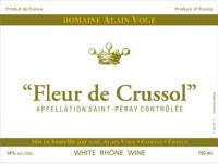 Saint Peray Fleur de Crussol 2011