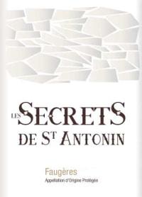 Faugeres Secrets de Saint Antonin Rouge 2011