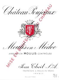 Chateau Poujeaux Cru Bourgeois 2010